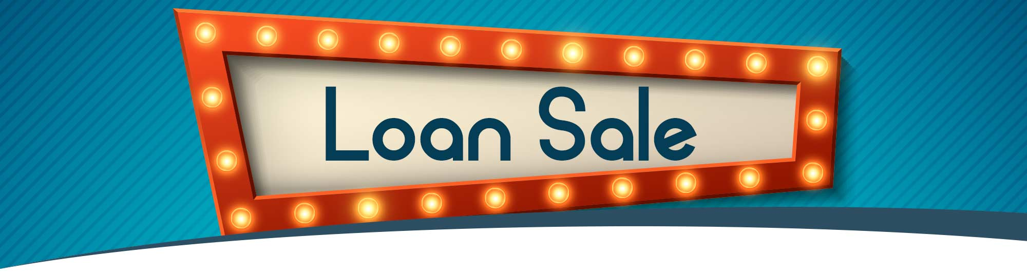 1% off apr on all auto and personal loans! Online only sale!
